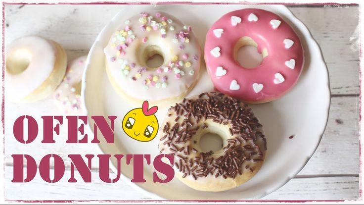 DIY | Ofen Donuts | schnell & einfach selber machen  Back Lounge