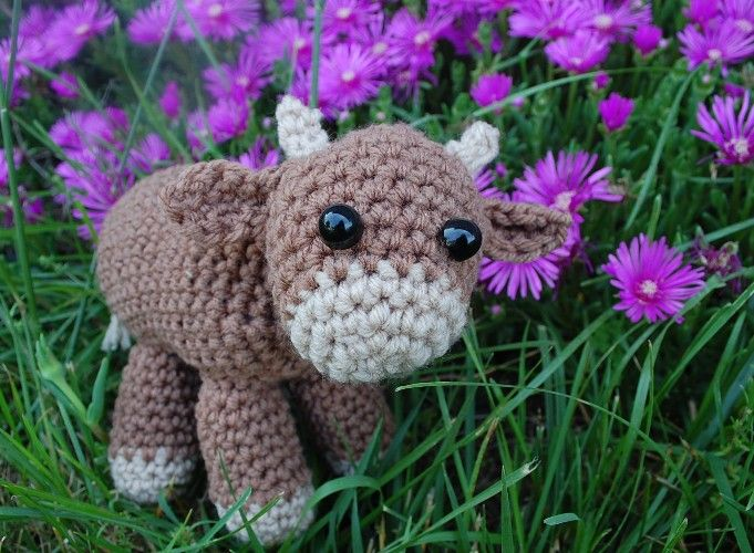 Google Crochet Patterns : crochet cow pattern free - Google Search Crochet toys Pinterest