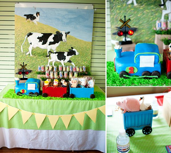 49 Best Images About Farm Tractor Birthday Party On
