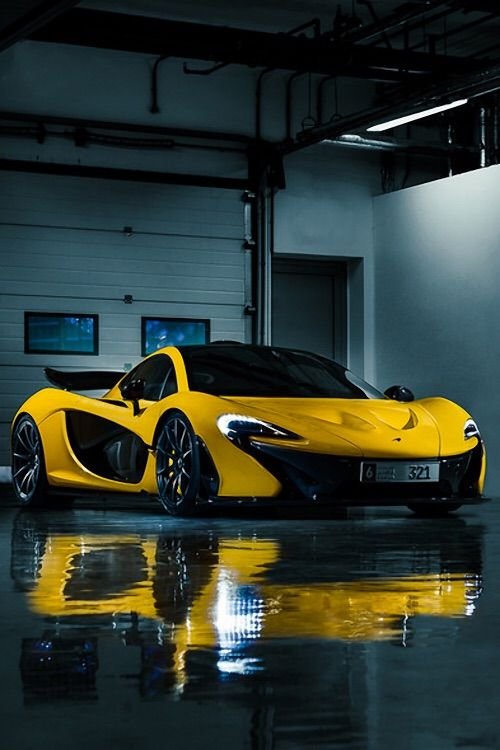 A nice yellow car the would be the future version of his