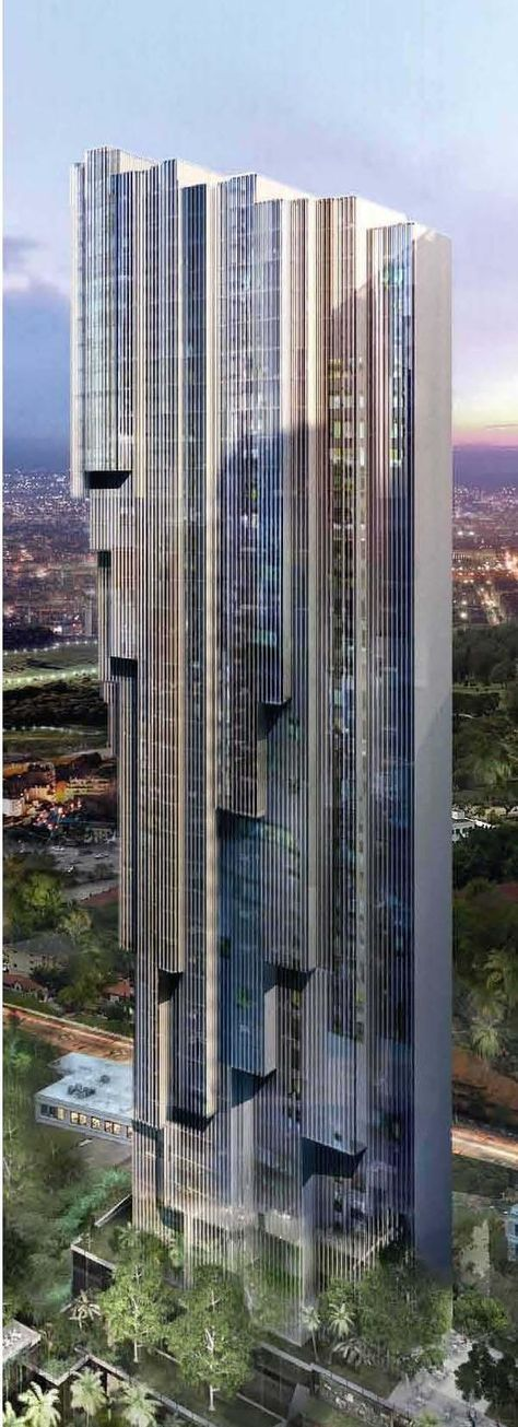 Platinum Residences, Platinum Park development, Kuala Lumpur by RSP Engineers Sdn Bhd :: 30 floors #futuristicarchitecture