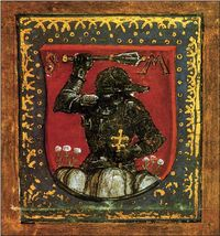 A knight from the Black Army of King Matthias Corvinus