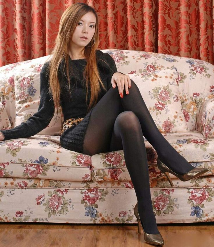 Office pantyhose sex find #10