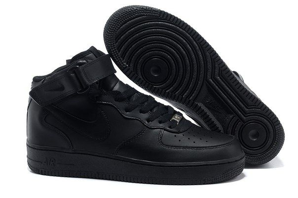 Nike Air Force I High Black ✓ В наличии Больше моделей: vk.com ...