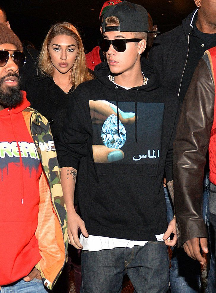 Pin for Later: 5 Beautiful Ladies Who Have Been Romantically Linked to Justin Bieber Chantel Jeffries
