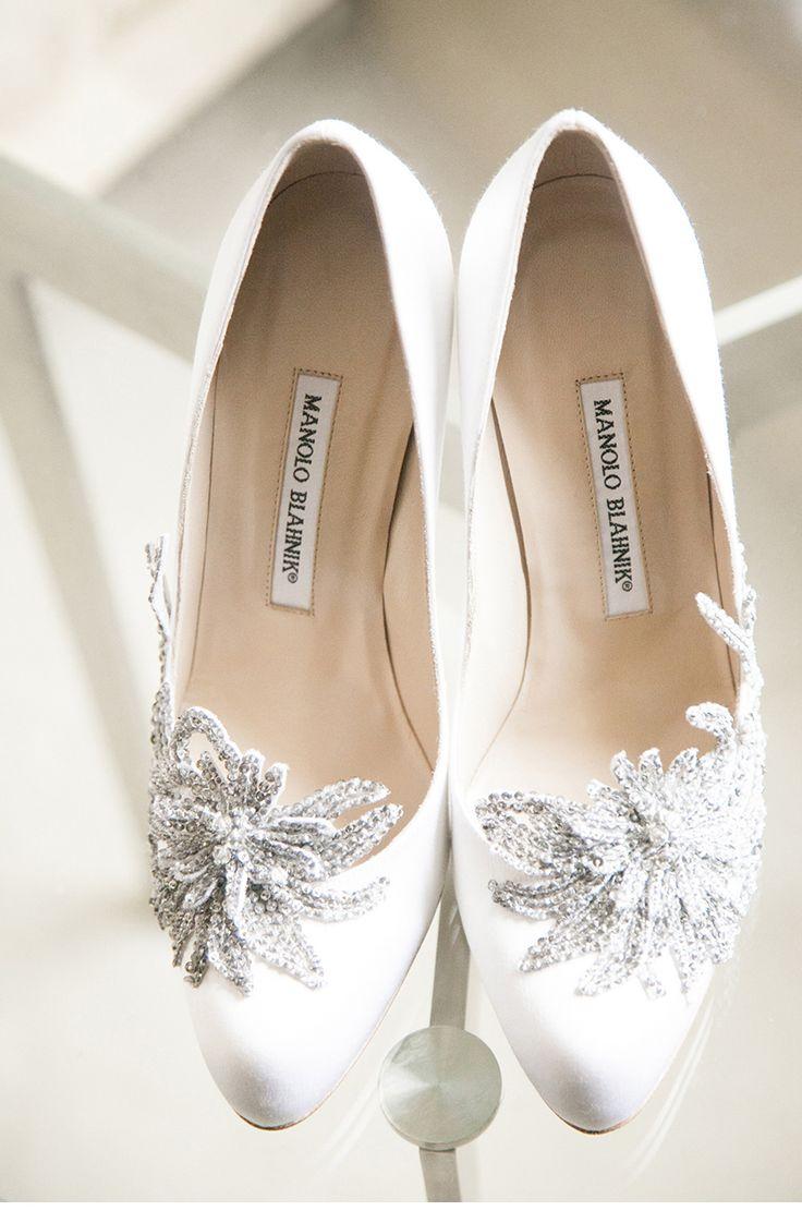My Wedding Shoes Manolo Blahnik Swan