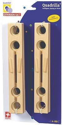 Quadrilla EXPANSION Set 7 (4 short straight rails)