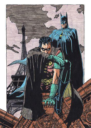 Batman y Robin color   Flickr - Photo Sharing!