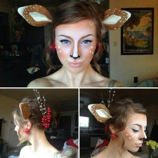 Adorable doe costume idea
