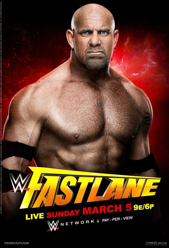 WWE Fastlane 2017 Affiche officielle par Jahar145