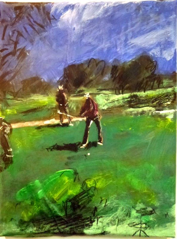 Art & Golf: LOS LAGOS