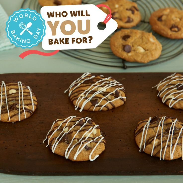 Who Will You Bake For This World Baking Day? Pledge to bake for someone special at http://worldbakingday.com/