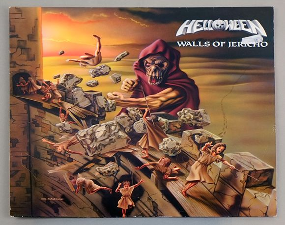 Front Cover Photo Of Helloween Walls Of Jericho Http://www