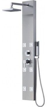 """Full-Body Massage Shower Panel With Handheld Shower, 57"""" contemporary-shower-panels-and-columns #ShowerPanels"""