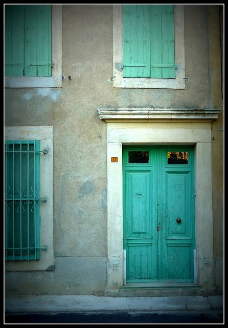 Old Door by chez loulou, via Flickr