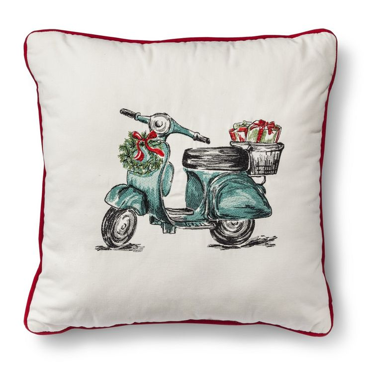 Threshold� Holiday Scooter Pillow