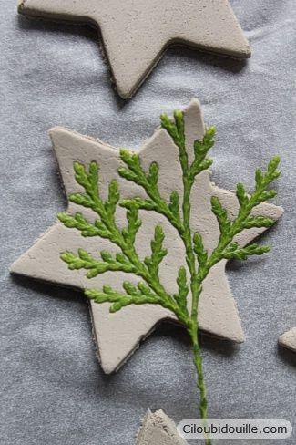 Ciloubidouille » Décorations en argile pour sapins de Noël partie 1