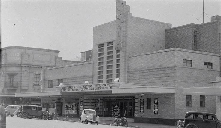 Corio Theatre Geelong 1940s