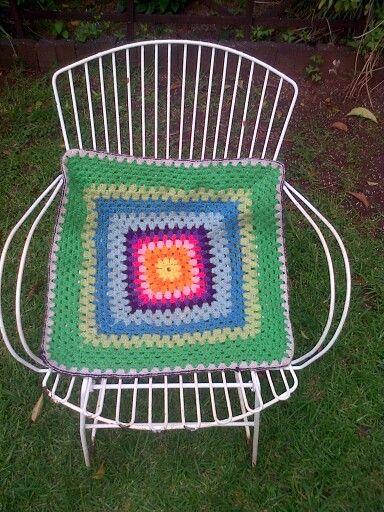 Crochet mini blanket