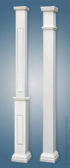 Structural Square Porch Columns…