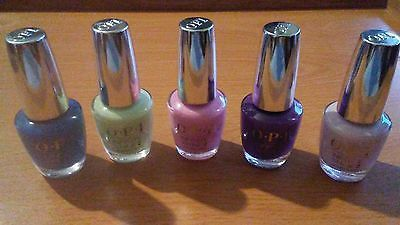 Lot-of-5-OPI-INFINITE-SHINE2-Nail-Polish-Lacquer-5-different-Colors-NEW