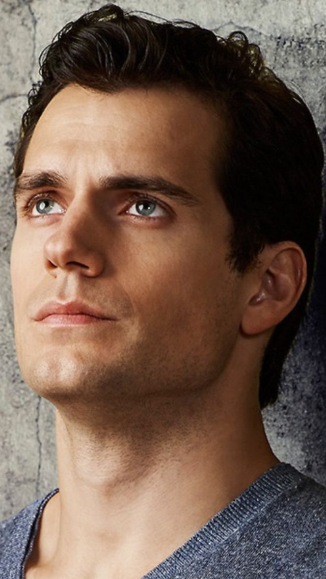 Henry Cavill - To paraphrase the book, Fangirl by Rainbow Rowell, I want to lock that chin down.