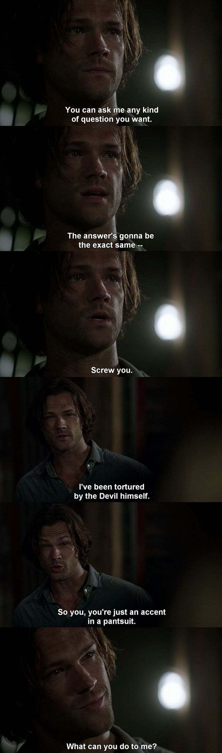 Already in love with season's 12 Sam❤ Also, Sammy's look in the last picture, hahaha love it!!