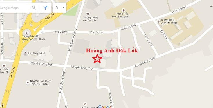Căn hộ dự án Hoàng Anh Đắk Lắk