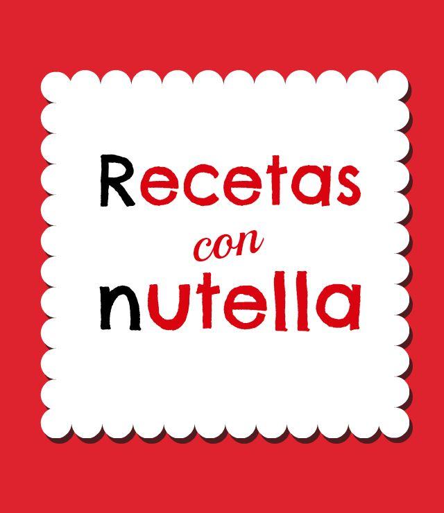 Recetas de Postres con Nutella
