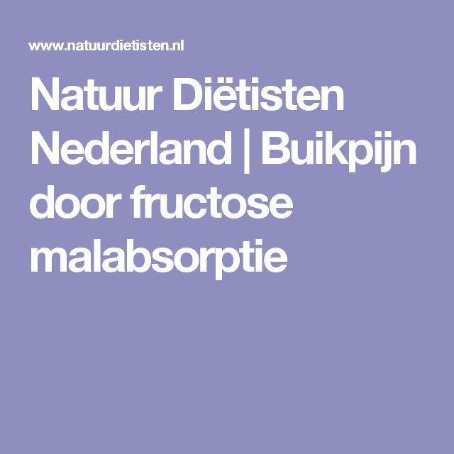 Natuur Diëtisten Nederland   Buikpijn door fructose malabsorptie