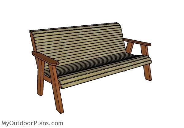 Outdoor Bench Plans Free | Outdoor Furniture Plans | Pinterest | Bench Plans,  Garden Bench Plans And Outdoor Furniture Plans Part 59