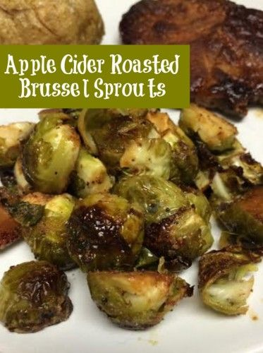 A sweet twist with these Apple Cider Roast Brussel Sprouts. Amazing flavor and a perfect thanksgiving recipes side dish.