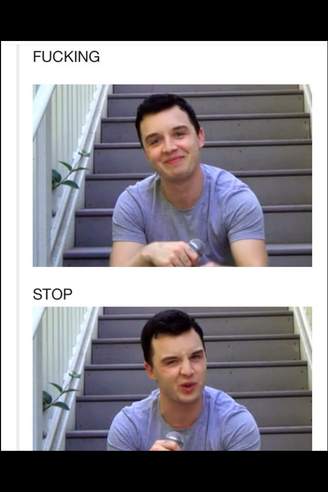 Noel Fisher has the best facial expression f*ck