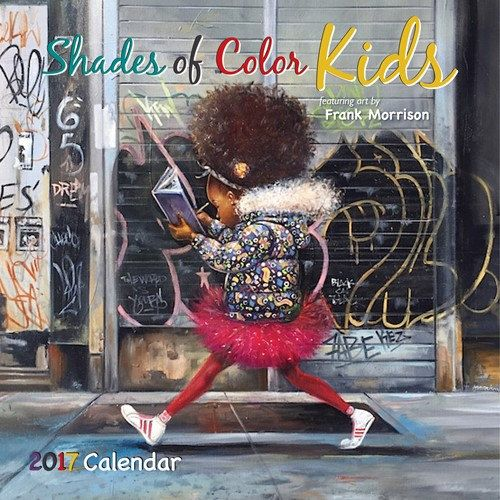 2017 Shades of Color Kids by Frank Morrison African American Calendar by DDBProductions on Etsy