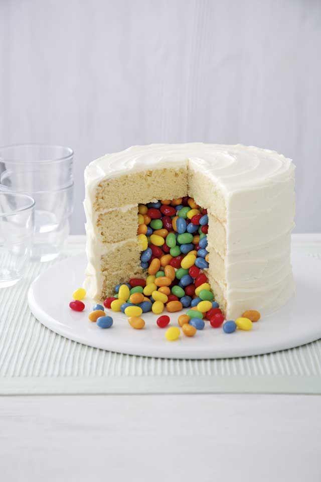 Exploding jelly bean cake :: Cosmopolitan UK