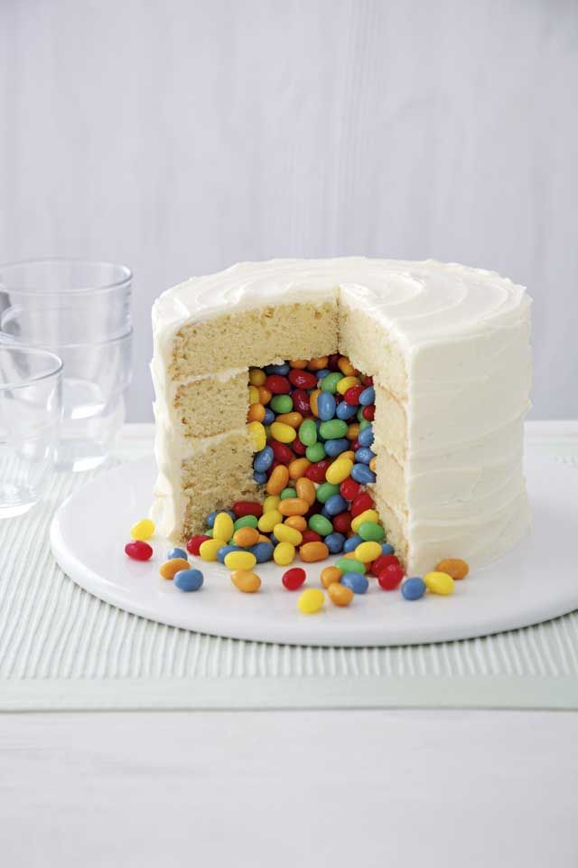 Exploding jelly bean cake :: Cosmopolitan UK