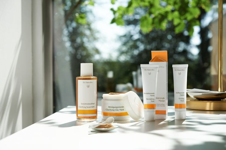 Dr. Hauschka skin-care in a new design with optimised product information.