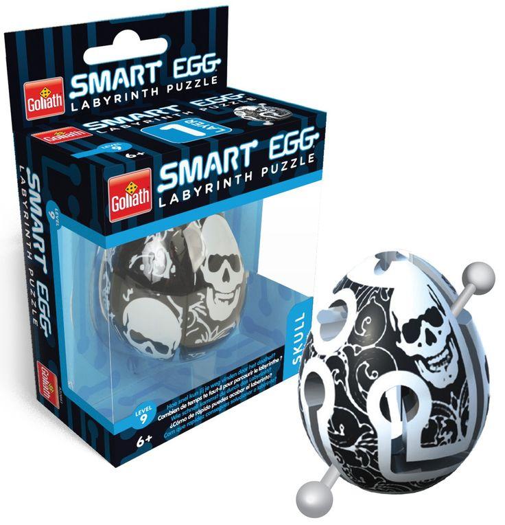 Het ei, de schil, de route, een ingang, een uitgang, geen onnodige zijpaden, geen doodlopende wegen. Op het eerste gezicht lijkt het eenvoudig, maar zoals vaker is het niet zo slim om op die eerste indruk af te gaan. Wel slim is het alles te vergeten wat je ooit hebt geleerd, je fantasie ruim baan te geven en elke mogelijkheid uit te proberen. Dat is bij de Smart Egg de sleutel tot succes. Bij de Smart Egg, een verslavende breinbreker die al diverse internationale prijzen won, is het de…