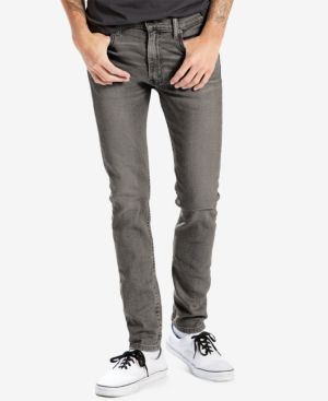 Levi's 519 Extreme Skinny Fit Ripped Jeans - Blue 36x29
