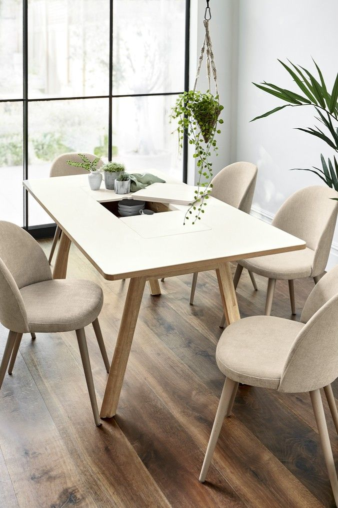 Next Contemporary Dining Table Dining Table With Storage Light Oak Dining Table Rectangle Dining Table