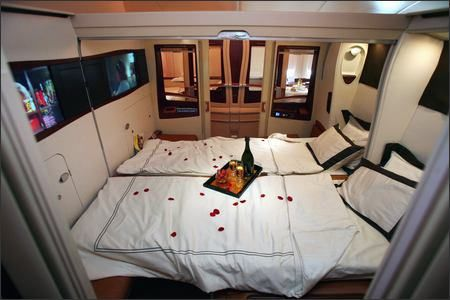 SIA First Class Suite on A380