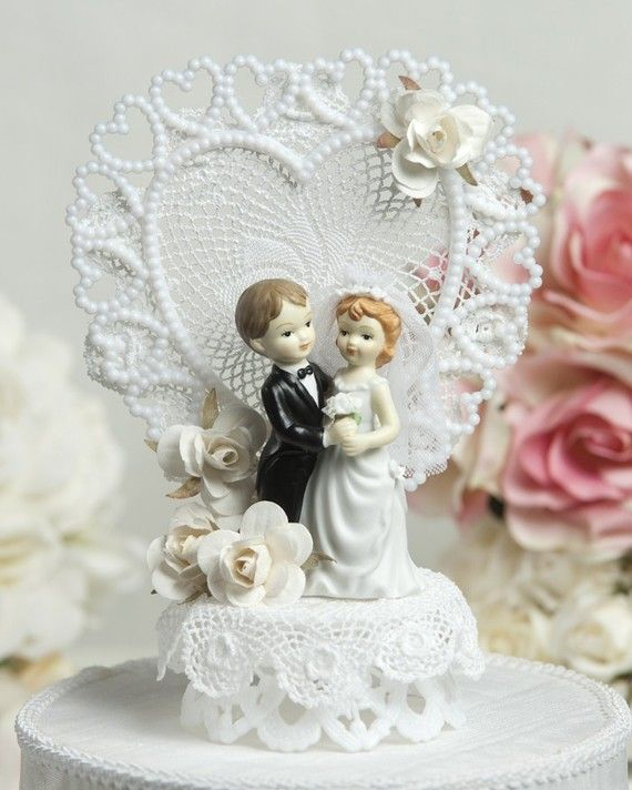 Wedding Cake Toppers Vintage: 17 Best Images About Vintage Cake Toppers On Pinterest
