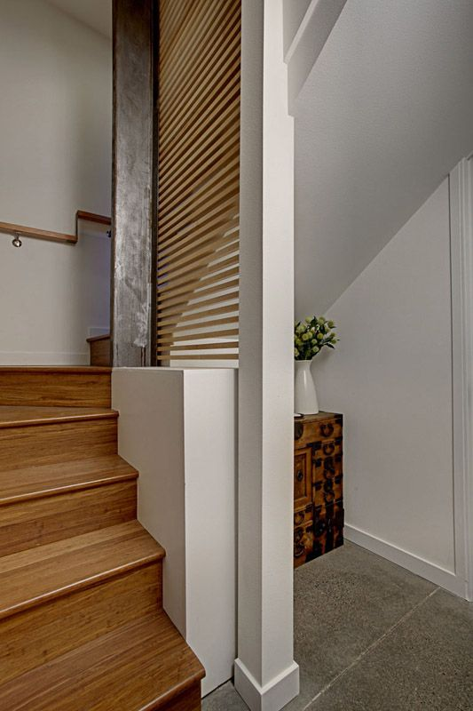 Custom Stairs by First Lamp Architecture in Seattle Washington