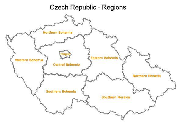 Czech Republic - Regions