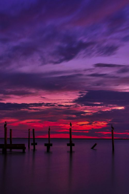 Purple And Red Sky Aesthetic Purple Sunset Red Sunset