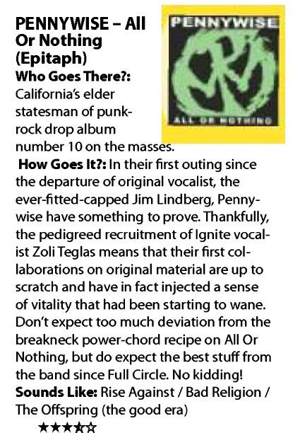 Rave mag album review