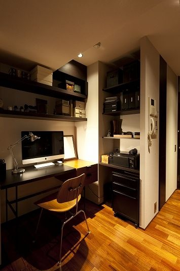 This is a lovely little office.