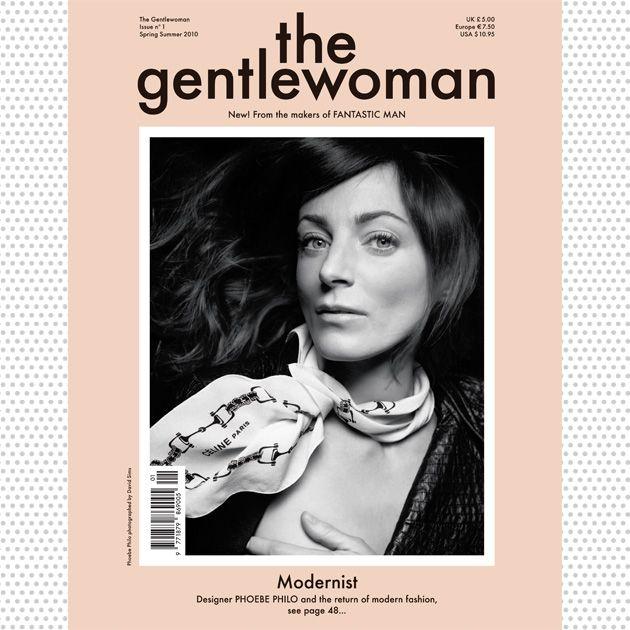 1ª edición revista Gentle Woman.  Fotografía de David Sims.  Primavera Verano 2010