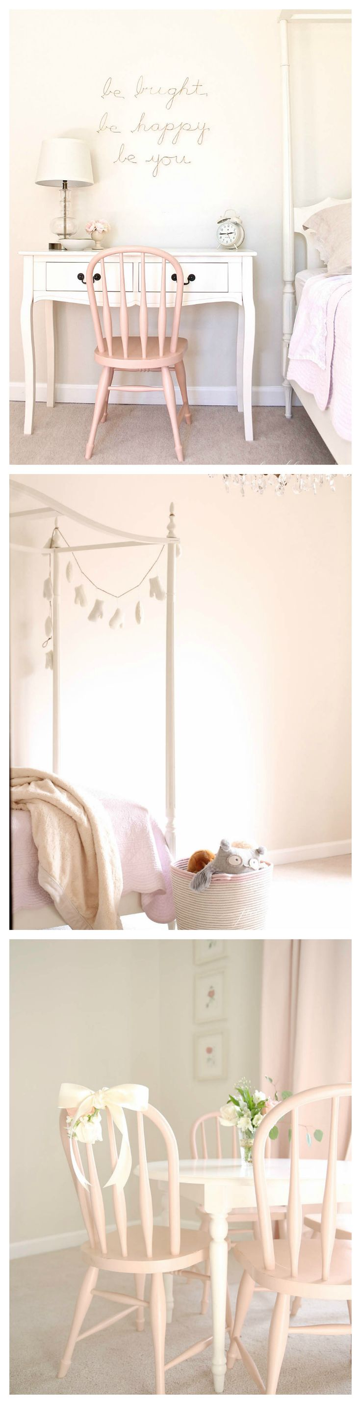 Some snaps of Adalyn's bedroom progress! Find inspiration and tips for decorating your little girls room.