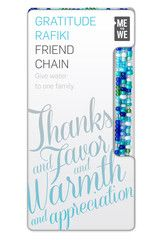 Me to We - All Rafikis. Another rafiki chain idea for my bridesmaids?